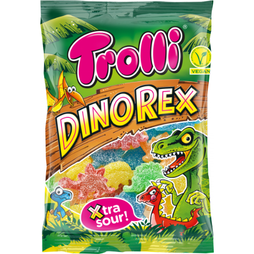 Trolli Dinorex Xtra Sour 200g packet